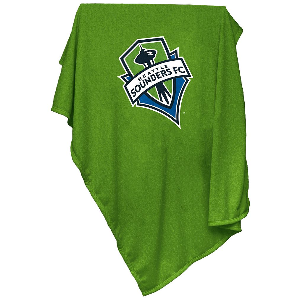 Logo Brand Seattle Sounders Sweatshirt Blanket