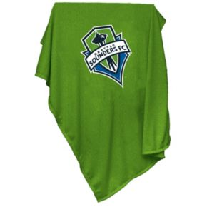 Logo Brand Seattle Sounders Sweatshirt Blanket
