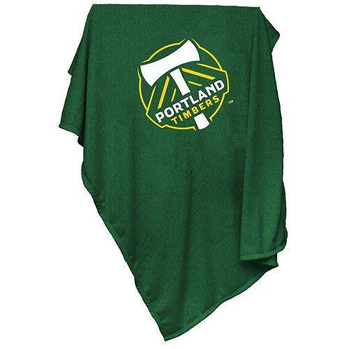 Logo Brand Portland Timbers Sweatshirt Blanket