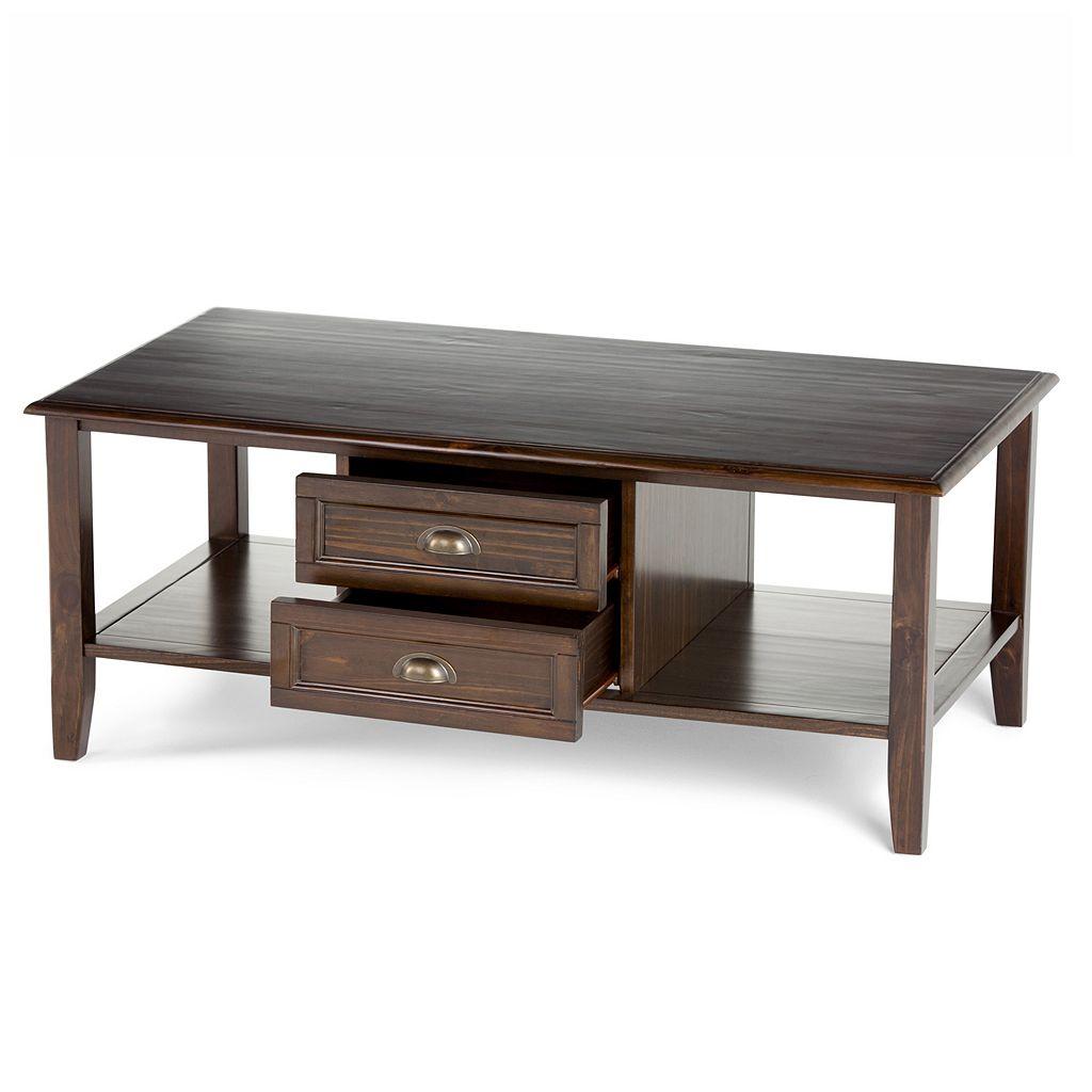 Simpli Home Burlington Coffee Table