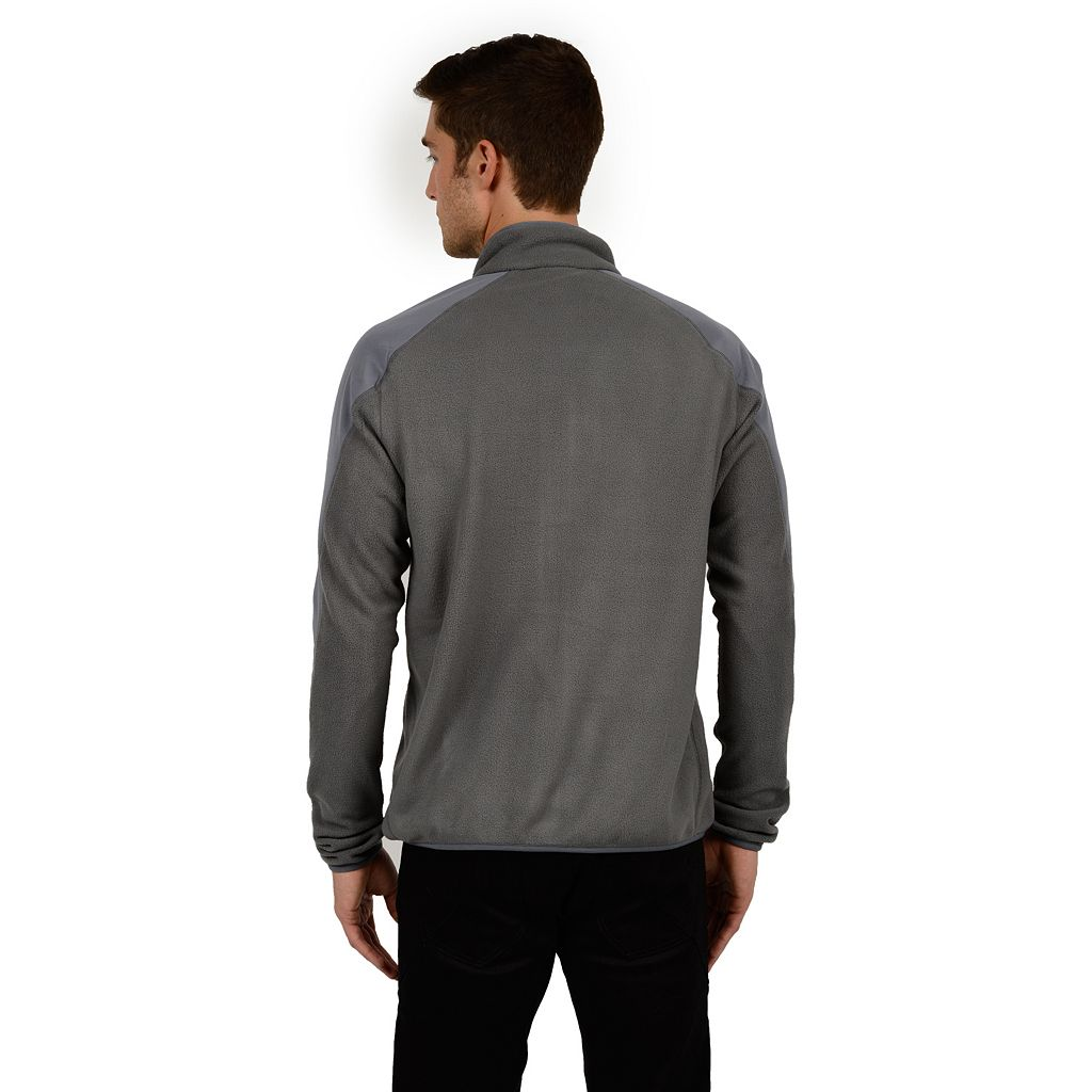 Men's Champion Microfleece Mockneck Performance Jacket