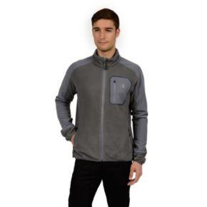 Men's Champion Microfleece Mockneck Performance Jacket