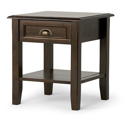 Simpli Home Burlington End Table