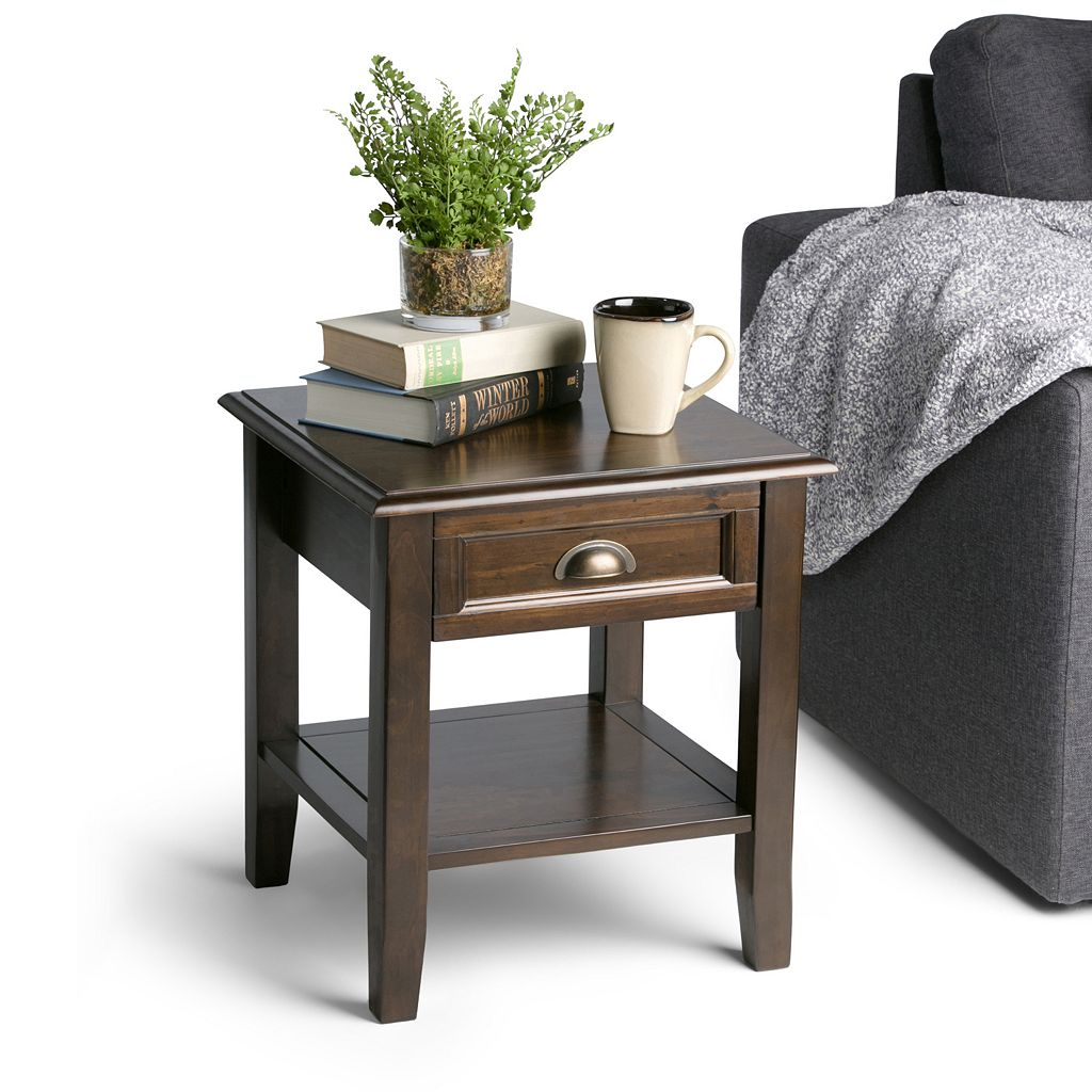 Simpli Home Burlington End Table