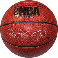 Steiner Sports Patrick Ewing NBA Signed Basketball