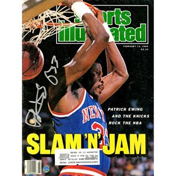 Steiner Sports Patrick Ewing Signed 1989 Sports Illustrated Magazine