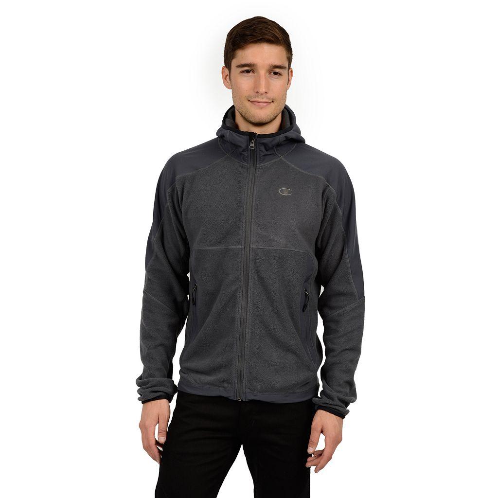 Men's Champion Microfleece Hooded Jacket