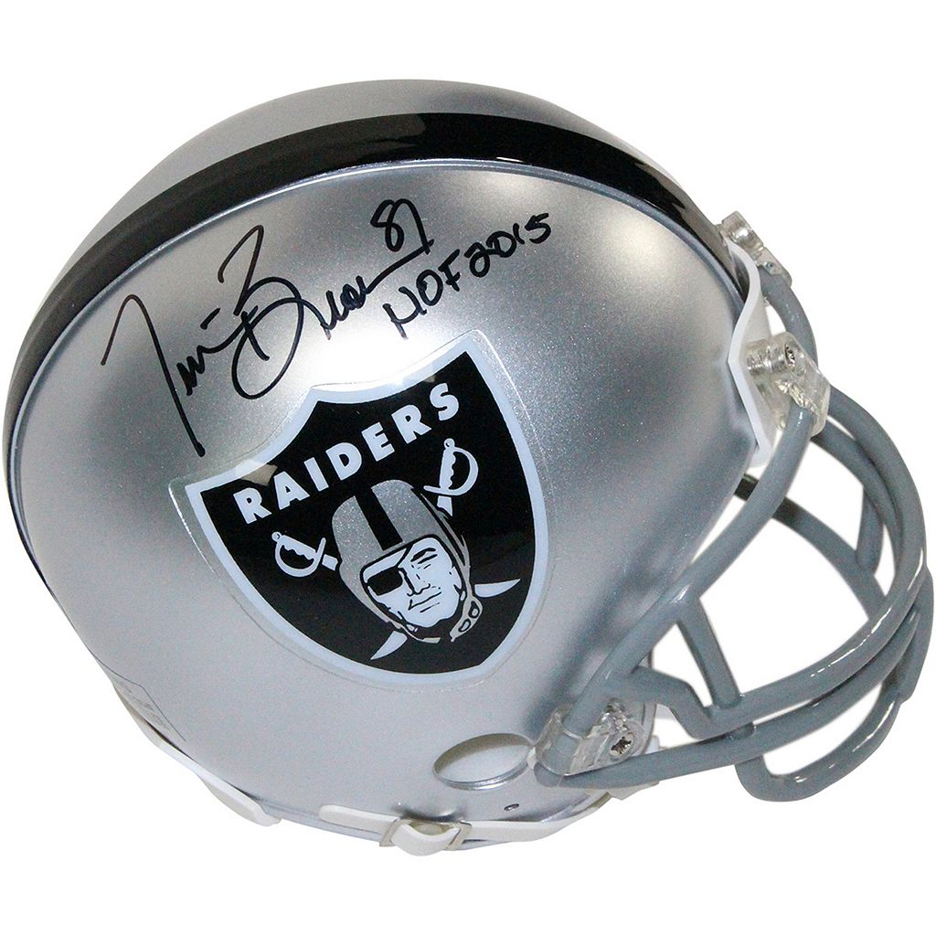 Steiner Sports Oakland Raiders Tim Brown Autographed Mini Helmet