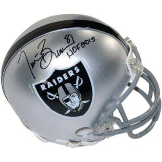 Steiner Sports Oakland Raiders Tim Brown Autographed Mini Helmet