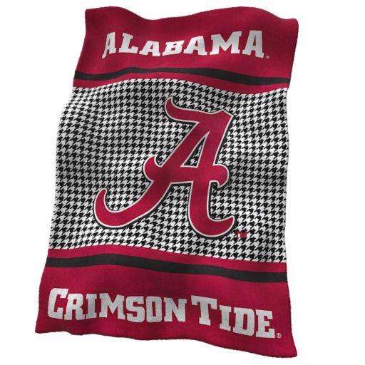 Logo Brand Alabama Crimson Tide Houndstooth UltraSoft Blanket