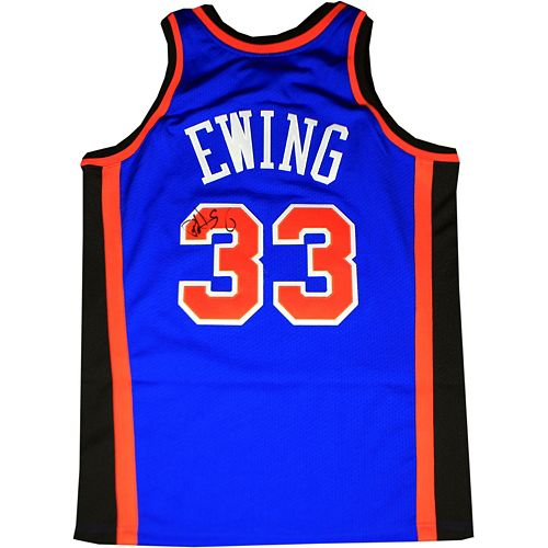 815313f268306 Steiner Sports Patrick Ewing Signed New York Knicks Jersey