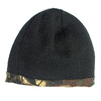 QuietWear Reversible Fleece Beanie - Men