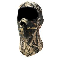 QuietWear Neo Fleece Spandex Mask - Men