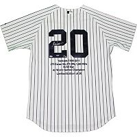 Steiner Sports Jorge Posada Signed New York Yankees Jersey