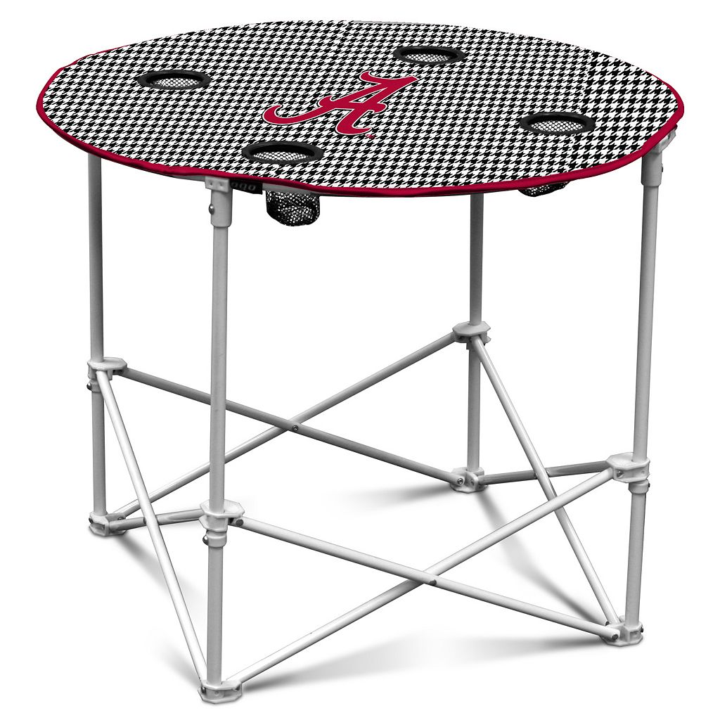 Logo Brand Alabama Crimson Tide Portable Folding Table