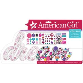 "American Girl ""Dream"" Collage Sign Kit by Fashion Angels"