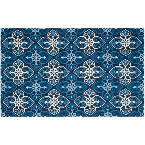 Safavieh Four Seasons Crest Medallion Indoor Outdoor Rug