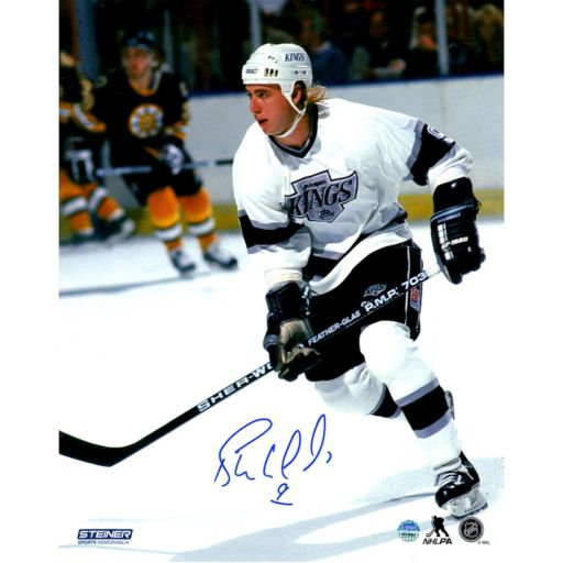 "Steiner Sports Los Angeles Kings Bernie Nicholls 8"" x 10"" Signed Photo"