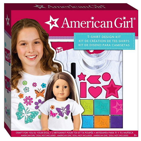 American Girl T Shirt Design Kit By Fashion Angels