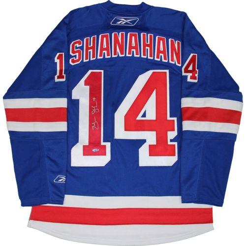 Steiner Sports Brendan Shanahan Signed New York Rangers Jersey