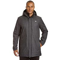 Big & Tall Champion Herringbone Coaches Parka