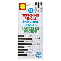 ALEX 12 pc Sketching Pencils