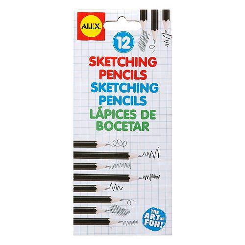 ALEX 12-pc. Sketching Pencils
