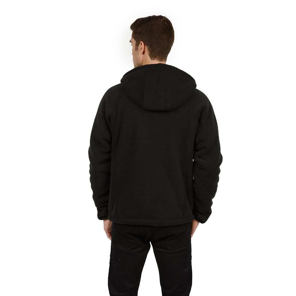 Big & Tall Champion Bonded Fleece Hooded Performance Jacket