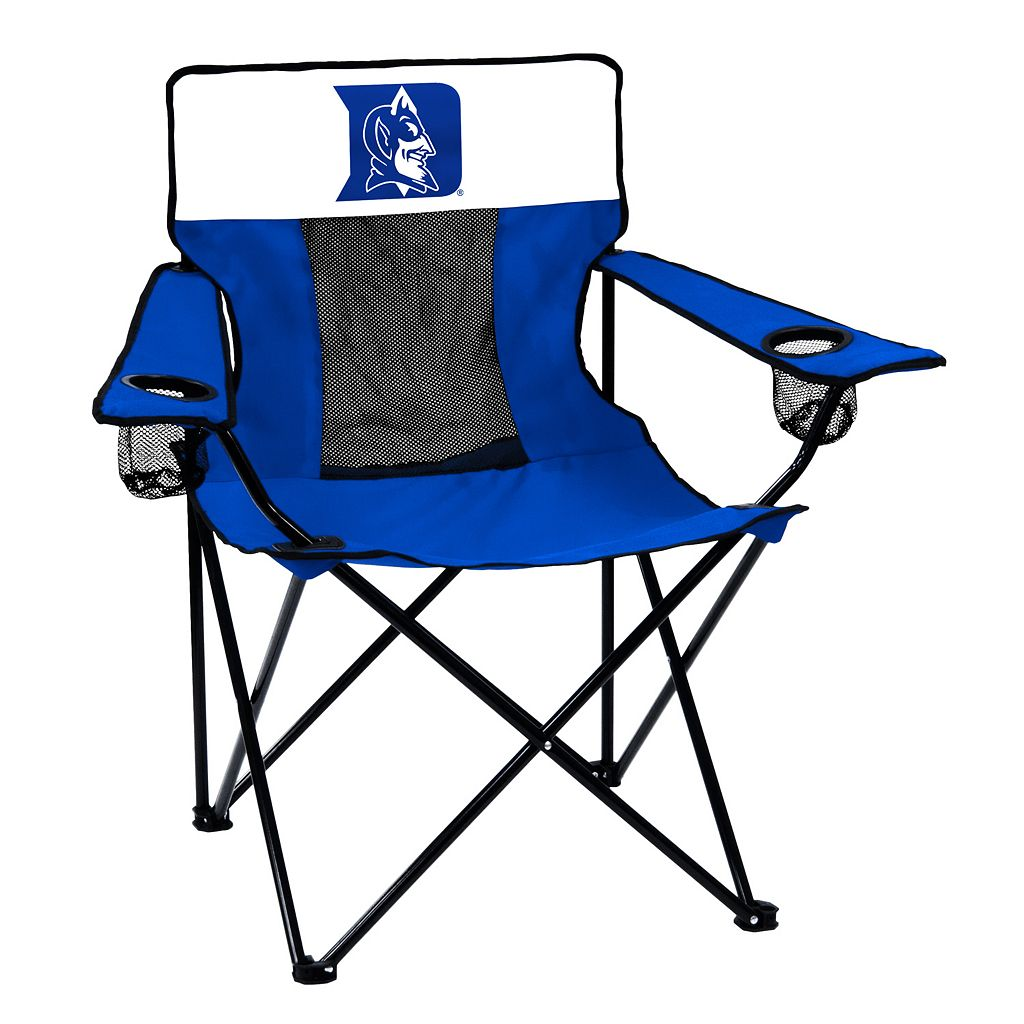 Logo Brand Duke Blue Devils Elite Fold-Up Chair