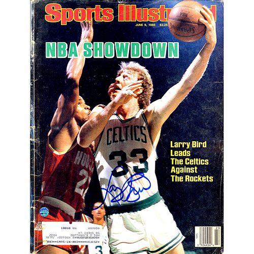 Steiner Sports Larry Bird Signed 1986 Sports Illustrated Magazine