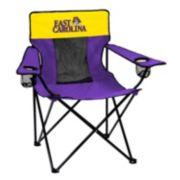 Logo Brand East Carolina Pirates Elite Fold-Up Chair