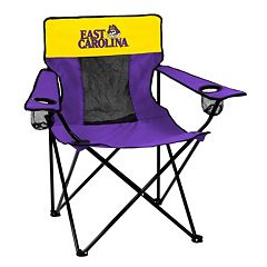 Logo Brand East Carolina Pirates Elite Fold-Up Chair