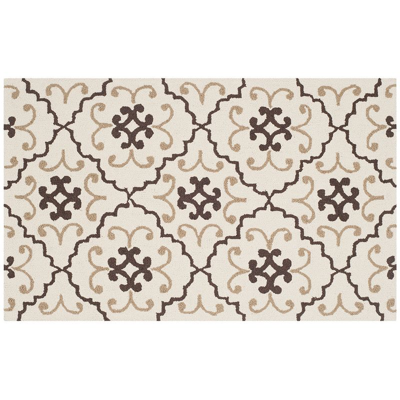 Safavieh Four Seasons Moroccan Medallion Indoor Outdoor Rug, 8X10 Ft Product Image