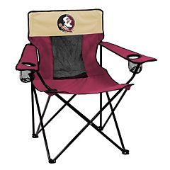 Logo Brand Florida State Seminoles Elite Fold-Up Chair