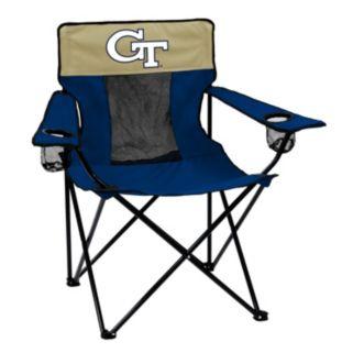 Logo Brand Georgia Tech Yellow Jackets Elite Fold-Up Chair