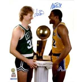 Steiner Sports Magic Johnson & Larry Bird Dual Signed Photo
