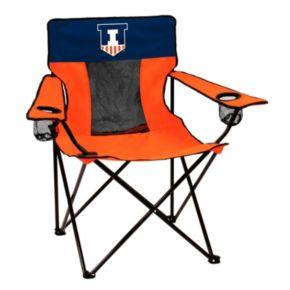 Logo Brand Illinois Fighting Illini Elite Fold-Up Chair