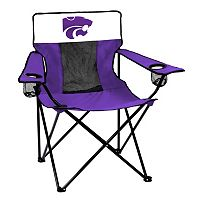 Logo Brand Kansas State Wildcats Elite Fold-Up Chair