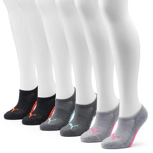 c3dd5676fee97 PUMA 6-pk. Women's No-Show Socks