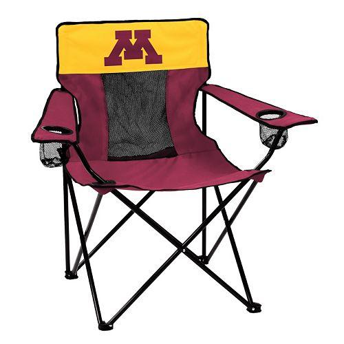 Logo Brand Minnesota Golden Gophers Elite Fold-Up Chair