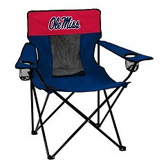 Logo Brand Ole Miss Rebels Elite Fold-Up Chair