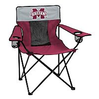 Logo Brand Mississippi State Bulldogs Elite Fold-Up Chair