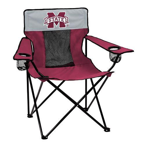 Logo Brand Mississippi State Bulldogs Elite Fold-Up Chair
