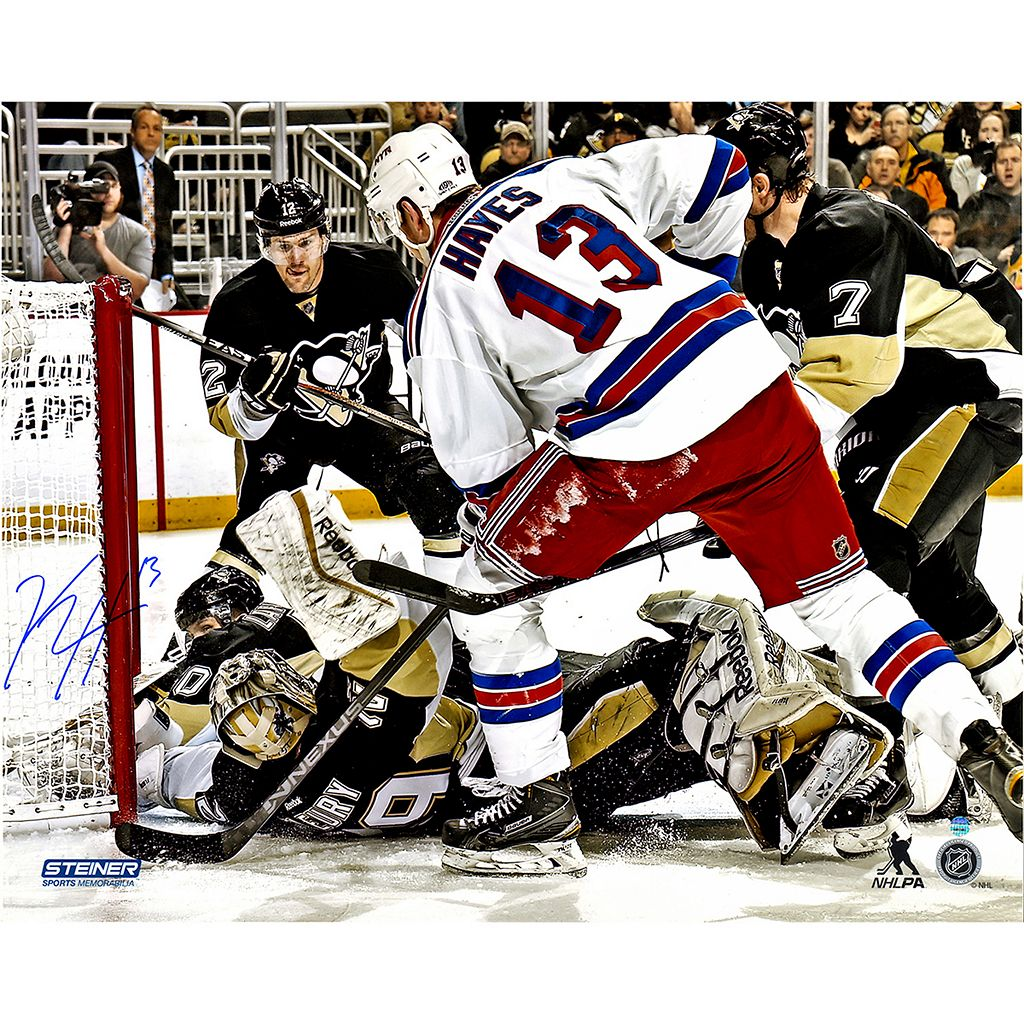 Steiner Sports New York Rangers Kevin Hayes Overtime Goal Signed 16