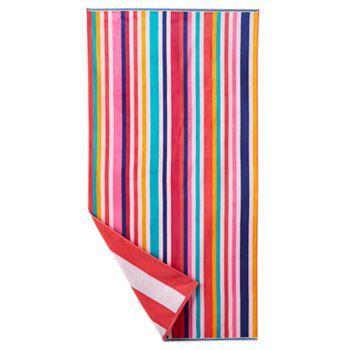 The Big One Striped Beach Towel
