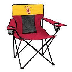 Logo Brand USC Trojans Elite Fold-Up Chair