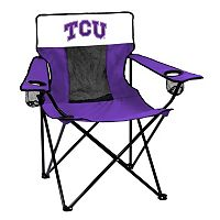 Logo Brand TCU Horned Frogs Elite Fold-Up Chair