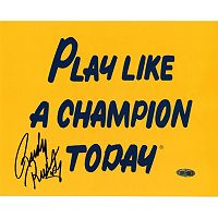 Steiner Sports Notre Dame Fighting Irish Rudy Ruettiger Play Like A Champ 8