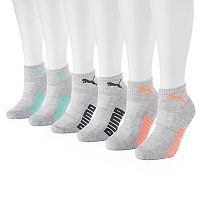 PUMA 6-pk. Women's Quarter-Crew Socks