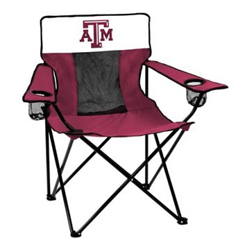 Logo Brand Texas A&M Aggies Elite Fold-Up Chair